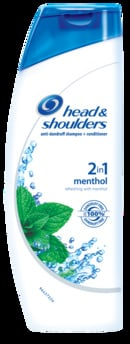 Head & Shoulders Anti-Dandruff Shampoo with menthol