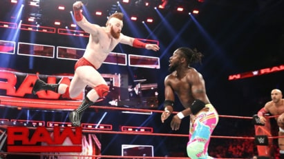 The New Day vs. Cesaro & Sheamus (WWE, Raw 11/21/16)