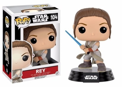 Star Wars Pop! Vinyl: Rey w/ Lightsaber