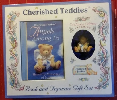 Cherished Teddies - Book & Figurine Gift Set (