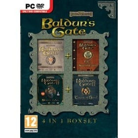 Baldur's Gate 4 in 1 Box Set (DVD)