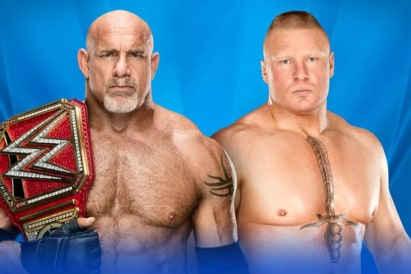 Goldberg vs. Brock Lesnar (WWE, Wrestlemania 33)
