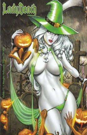 Lady Death Gallery: Naughty Halloween