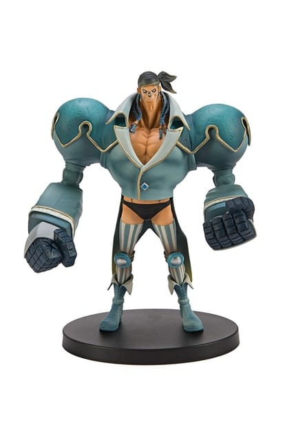 Banpresto One Piece 6.7-Inch 15th Anniversary Edition Franky DXF Sculpture, The Grandline Men Volume 1