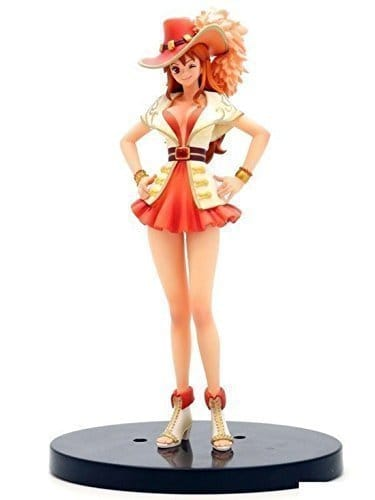 Banpresto One Piece 6-Inch 15th Anniversary Edition Nami DXF Sculpture, The Grandline Lady Volume 1