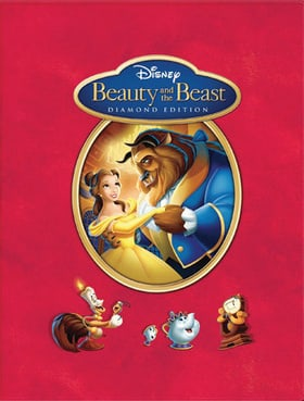 Beauty and the Beast Diamond Edition Blu-Ray IronPack