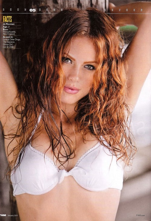 list of redhead actresses