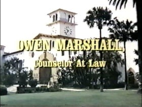 Owen Marshall, Counselor at Law                                  (1971-1974)