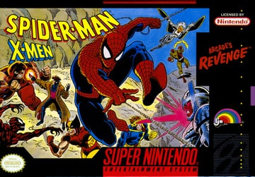 Spider-Man and the X-Men: Arcade