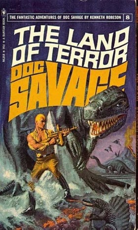 The Land of Terror (Doc Savage #8)