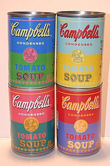 Andy Warhol: Campbell's Soup Cans (1962)