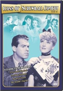 Icons of Screwball Comedy, Volume 1 (If You Could Only Cook / Too Many Husbands / My Sister Eileen /