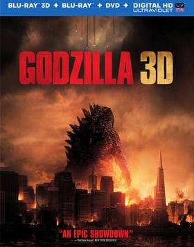 Godzilla 3D (Blu-ray 3D + Blu-ray + DVD + UltraViolet Digital Copy)