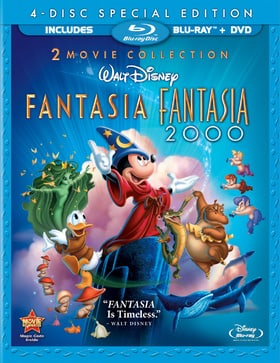 Fantasia/Fantasia 2000 (4-Disc Special Edition Blu-ray/DVD Combo w/ Blu-ray Packaging)