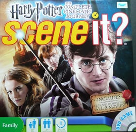Scene It? Harry Potter: The Complete Cinematic Journey