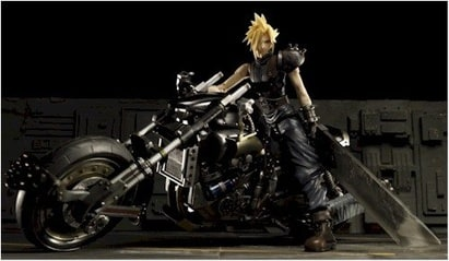 Final Fantasy VII Video Game Action Figure Cloud on Hardy Daytona
