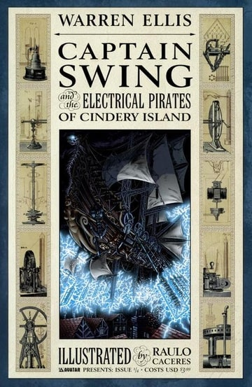 Captain Swing and the Electrical Pirates of Cindery Island #1–4
