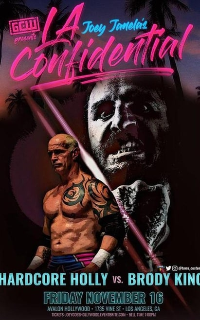 GCW Presents Joey Janela's LA Confidential