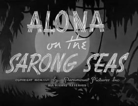 Alona on the Sarong Seas