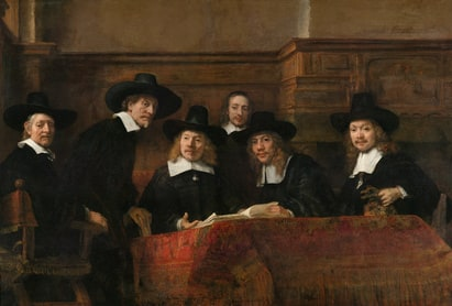 The Sampling Officials of the Amsterdam Drapers' Guild